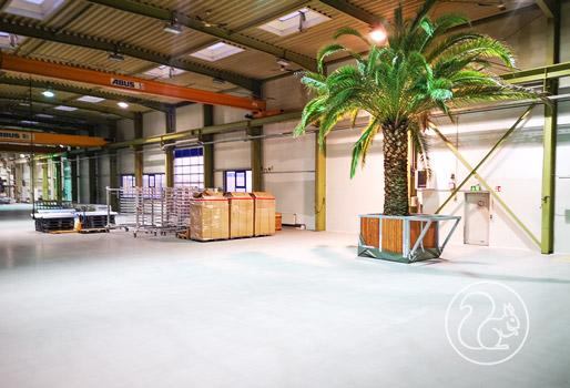 Komplettsanierung Lagerhalle / Nutzboden